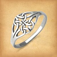 Silver Filigree Celtic Ring