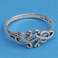 Silver Enchantment Ring