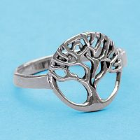 Silver Tree Ring