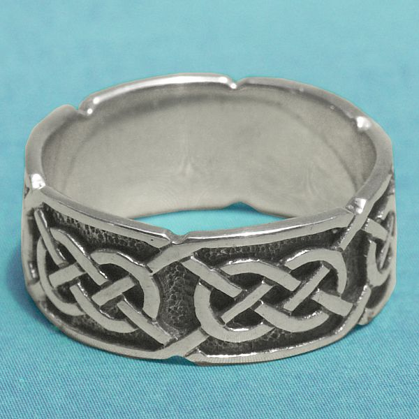 Silver Quot S 237 Orghr 225 Quot Celtic Ring At Gryphon S Moon