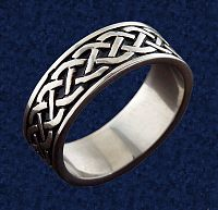 Celtic Braid Steel Ring - Celtic Rings, Claddagh Rings, Wedding Rings and More!, Stainless Steel Jewelry, Stainless Steel Rings, Celtic Jewelry, Wedding & Engagement Rings - Stainless Steel