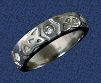 Stainless Steel Trinity Ring - Clearance Jewelry, Clearance