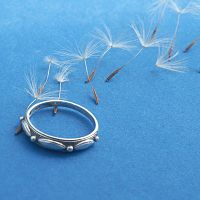 """Touch of Silver"" Ring"