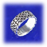 Wide Celtic Knotwork Band - Clearance Jewelry, Clearance