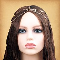 Gold Disk Fantasy Headpiece