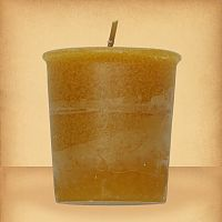 Amber Votive Candle