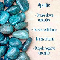 Apatite Tumbled Gemstones