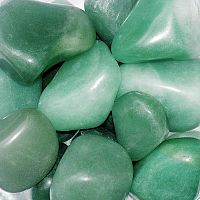Green Aventurine Tumbled Gemstones
