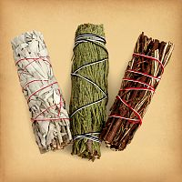 Smudge Bundle Sampler - Sage and Smudging, Magical Tools, Altar Accessories, Top Picks for Father's Day