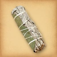 Sage & Eucalyptus Smudge Bundle - Sage and Smudging, Magical Tools, Altar Accessories