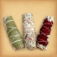 Sage Bundle Sampler - Sage and Smudging, Magical Tools, Altar Accessories, Top Picks for Father's Day