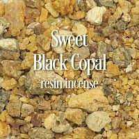 Sweet Black Copal Resin Incense