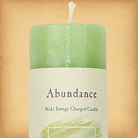 Herbal Magic Abundance Pillar Candle