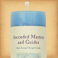 Herbal Magic Ascended Masters and Guides Pillar Candle