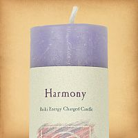 Herbal Magic Harmony Pillar Candle