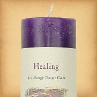 Herbal Magic Healing Pillar Candle