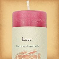 Herbal Magic Love Pillar Candle