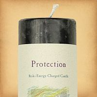 Herbal Magic Protection Pillar Candle