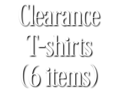 Search Results for Clearance T-shirts (6 items)