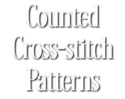 Counted Cross-stitch Patterns - Celtic, Pagan, Wiccan, Goddess, Fantasy and more