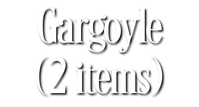 Search Results for Gargoyle (2 items)