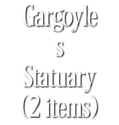 Search Results for Gargoyle s Statuary (2 items)