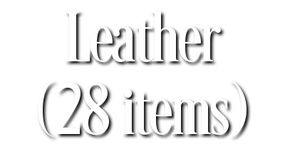 Search Results for Leather (28 items)