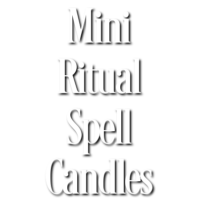 Mini Ritual Spell Candles