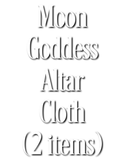 Search Results for Moon Goddess Altar Cloth (2 items)