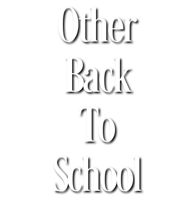 Other Back To School