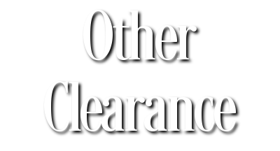 Other Clearance
