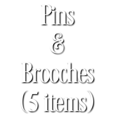 Search Results for Pins & Brooches (5 items)
