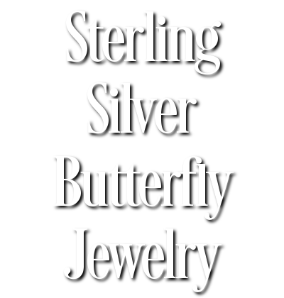Sterling Silver Butterfly Jewelry