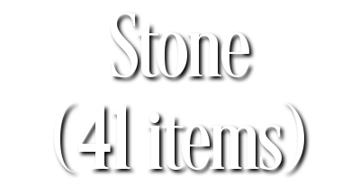 Search Results for Stone (41 items)