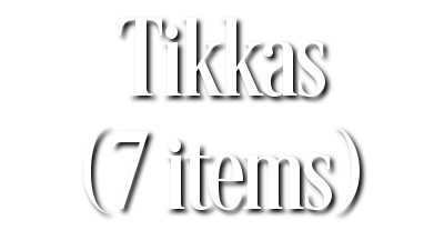 Search Results for Tikkas (7 items)