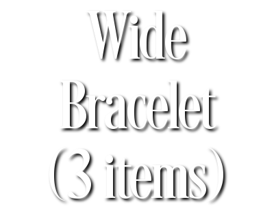 Search Results for Wide Bracelet (3 items)