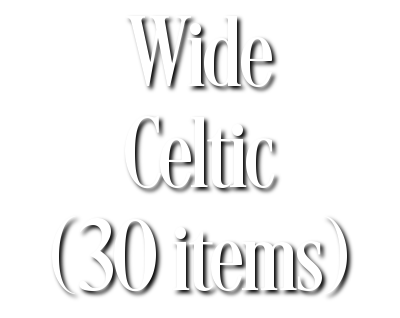 Search Results for Wide Celtic (30 items)